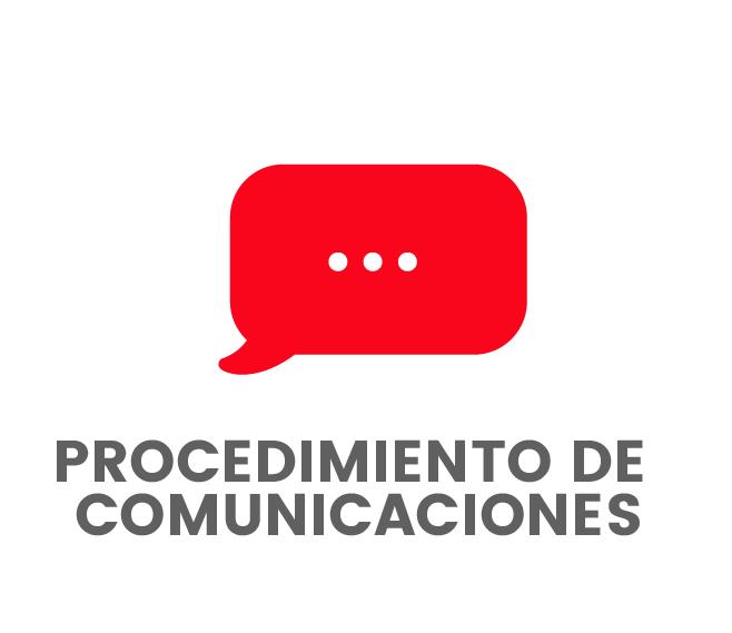 Procedimiento de comunicaciones