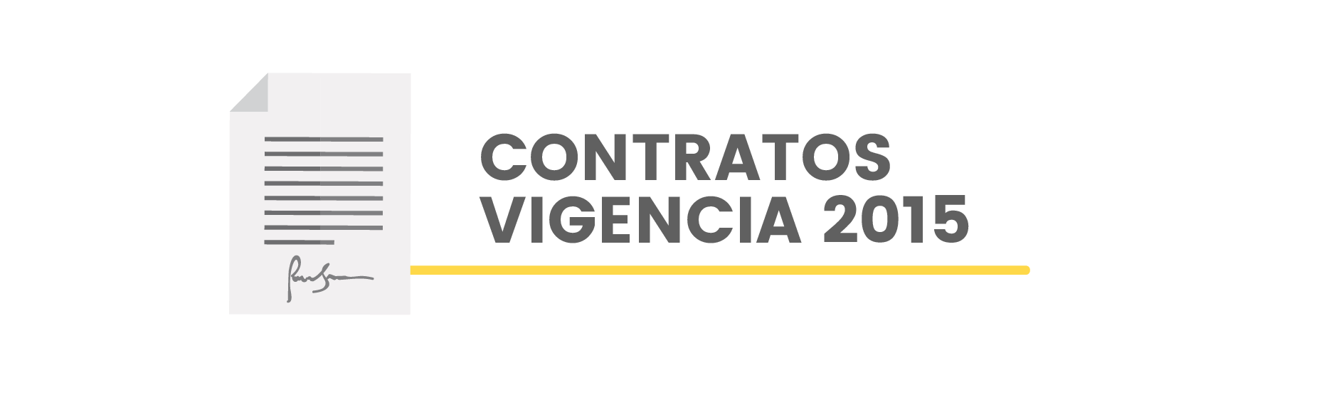 Contratos Vigencia 2015