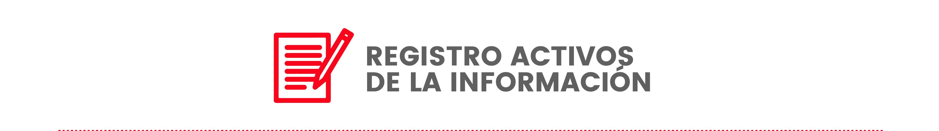Registro Activos de la Información (Actualizando)